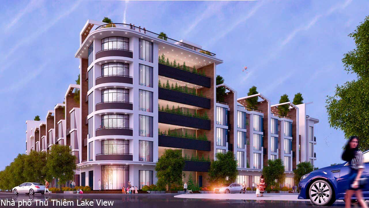 Dự án Nhà phố Thủ Thiêm Lake View