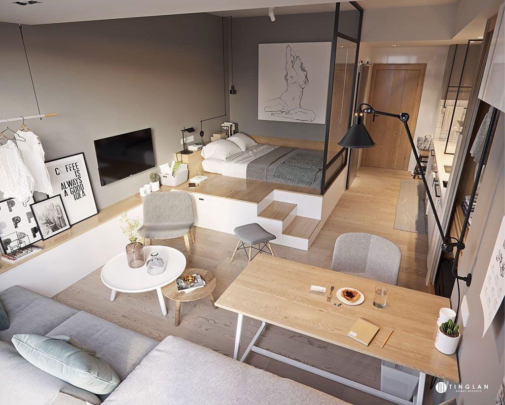 Thiết kế căn hộ Thủ Thiêm River Park rất hiện đại và ưu việt
