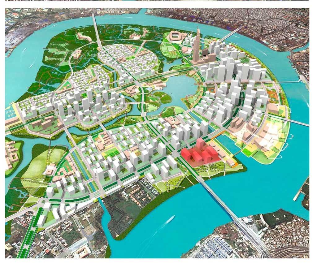 Vị trí căn hộ Thủ Thiêm River Park nằm ở đâu?