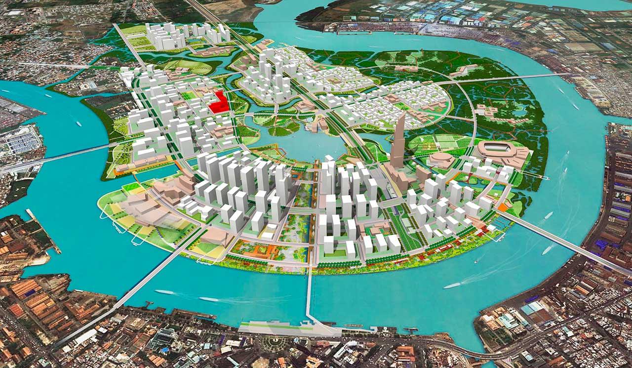 Địa chỉ dự án Thủ Thiêm Lake View nằm ở đâu?