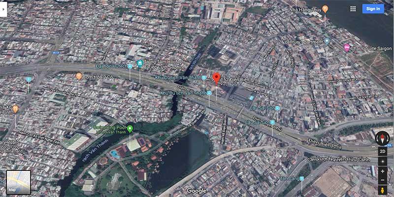 Vị trí dự án 152 Điện Biên Phủ nằm ở đâu?