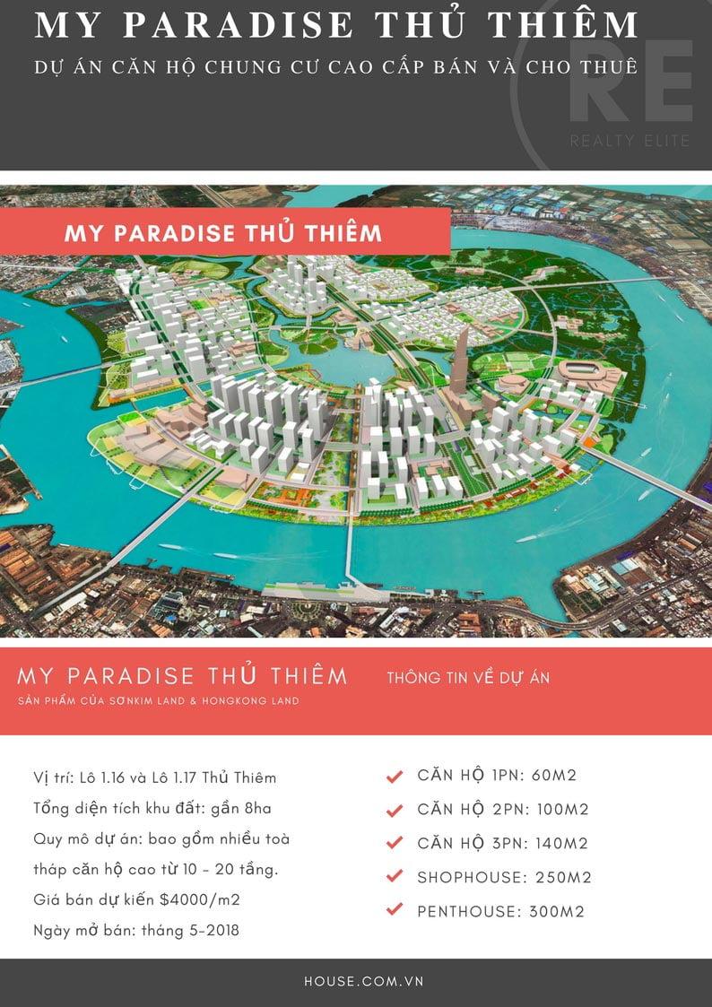 Dự án căn hộ My Paradise Thủ Thiêm