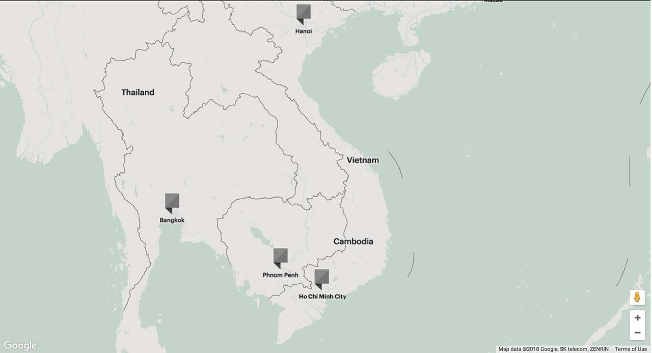 Các dự án của Hongkong Land tại Việt Nam
