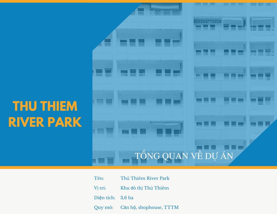 Nói về dự án Thủ Thiêm River Park Quận 2