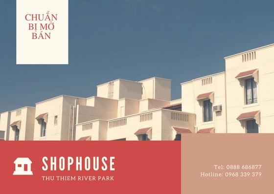 Shophouse Thủ Thiêm River Park Quận 2 bán giá rất tốt