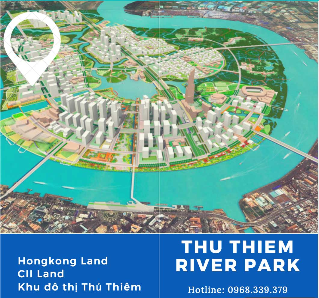 Location of Thu Thiem River Park apartment