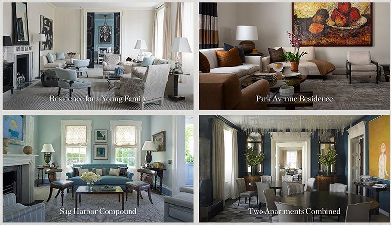 Bộ sưu tập thiết kế nội thất của David Kleinberg