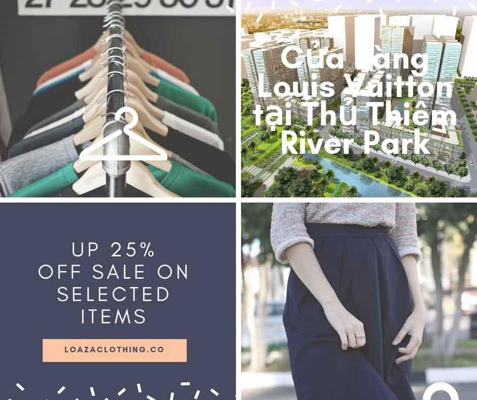 Cửa hàng Louis Vuitton tại Thủ Thiêm River Park
