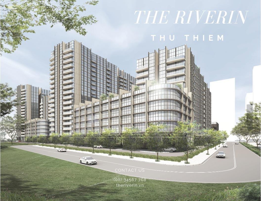 Phối cảnh dự án The Riverin Thủ Thiêm Quận 2