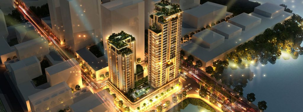Phối cảnh dự án Riverfront Residences Thủ Thiêm